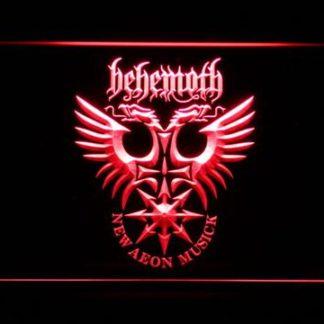 Behemoth neon sign LED