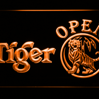 Tiger Open neon sign LED