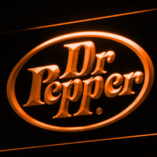 Dr Pepper neon sign LED