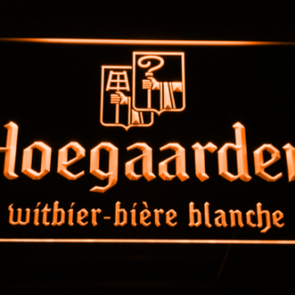 Hoegaarden neon sign LED