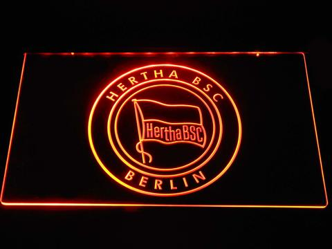 Hertha BSC neon sign LED
