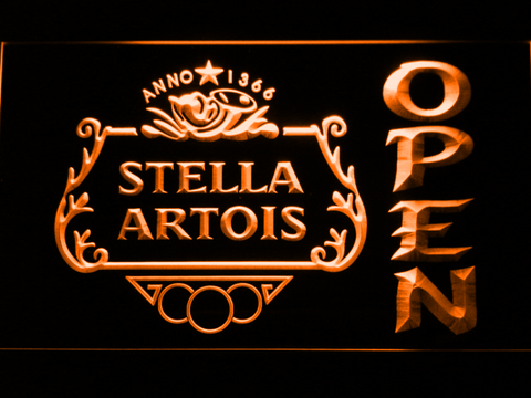 Stella Artois Crest Open Neon Sign Led Sign Shop What S Your