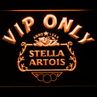 Stella Artois Crest VIP Only neon sign LED