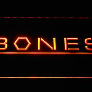 Bones neon sign LED