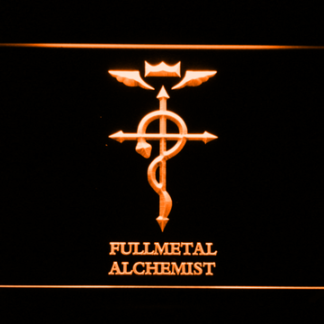 Full Metal Alchemist Flamel's Cross neon sign LED