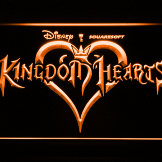 Kingdom Hearts neon sign LED