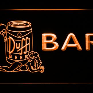Duff Simpsons Bar neon sign LED