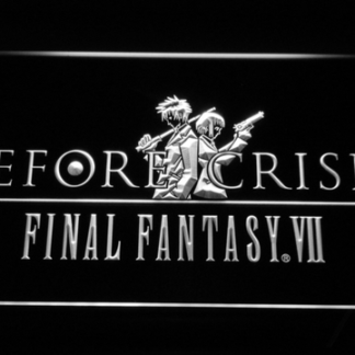 Final Fantasy VII Before Crisis neon sign LED