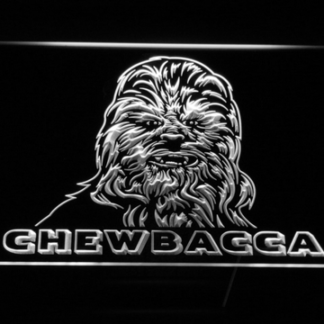 Star Wars Chewbacca neon sign LED