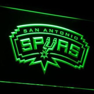 San Antonio Spurs neon sign LED