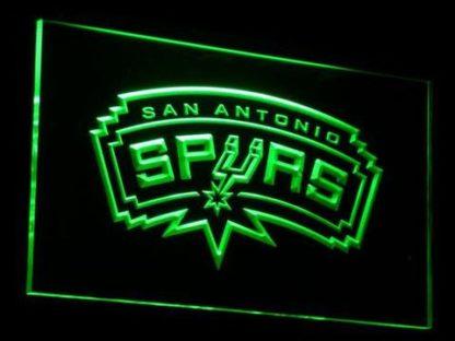 San Antonio Spurs neon sign LED