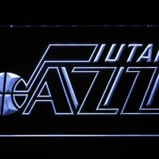 Utah Jazz Badge neon sign LED