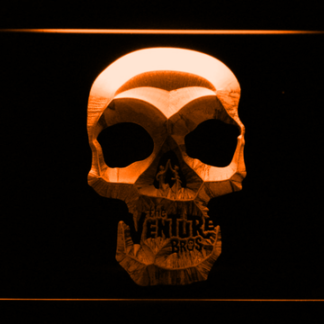 The Venture Bros. Skull neon sign LED