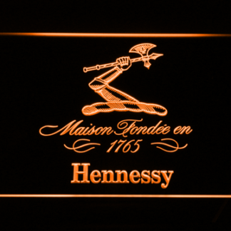 Hennessy neon sign LED