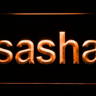 Sasha neon sign LED
