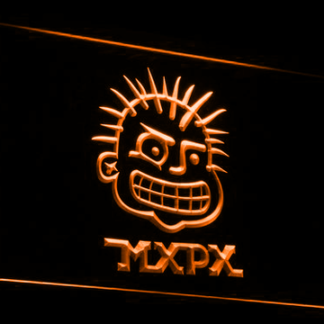 MxPx neon sign LED