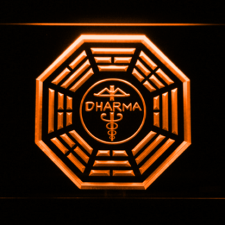 Lost Dharma Initiative The Staff neon sign LED