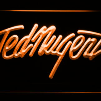 Ted Nugent neon sign LED