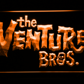 The Venture Bros. neon sign LED