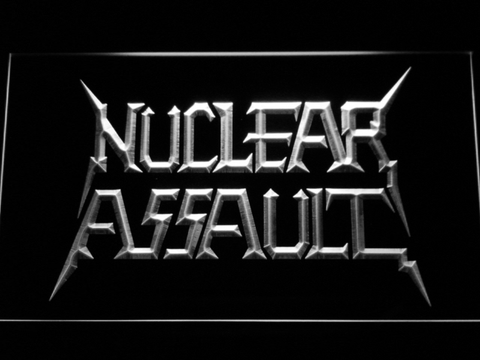 Nuclear Assault neon sign LED