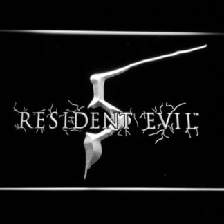 Resident Evil 5 neon sign LED