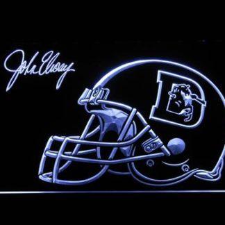 Denver Broncos John Elway Signature neon sign LED