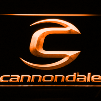 Cannondale neon sign LED
