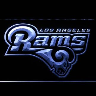 Los Angeles Rams neon sign LED