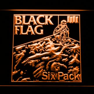 Black Flag Six Pack neon sign LED