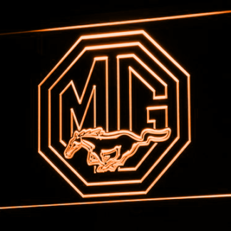 Ford MG Mustang neon sign LED