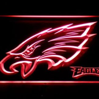 Philadelphia Eagles Head neon sign LED
