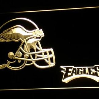 Philadelphia Eagles Helmet neon sign LED