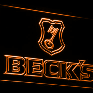 Beck's neon sign LED