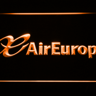 Air Europa neon sign LED