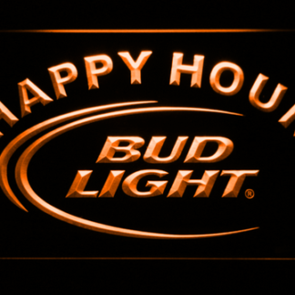 Bud Light Happy Hour neon sign LED
