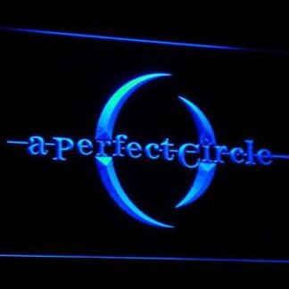 A Perfect Circle neon sign LED