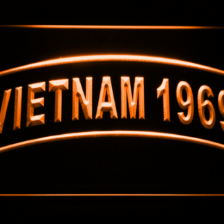 US Army Vietnam 1969 neon sign LED