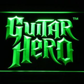 Guitar Hero neon sign LED