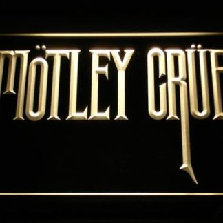 Motley Crue neon sign LED