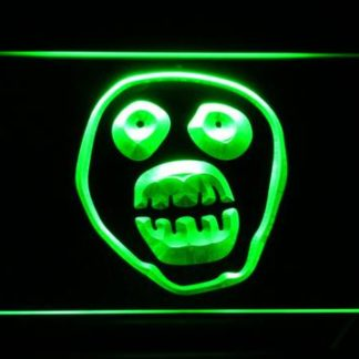 The Mighty Boosh Monkey Face neon sign LED