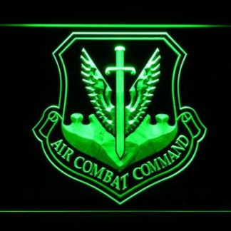 US Air Force Air Combat Command neon sign LED