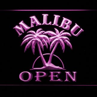 Malibu Open neon sign LED