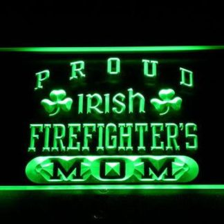 Irish Fire Fighter's Mom neon sign LED