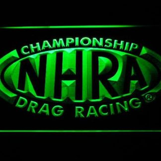 NHRA Drag Racing neon sign LED