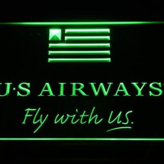 US Airways Fly With US neon sign LED