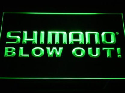 Shimano Blowout neon sign LED