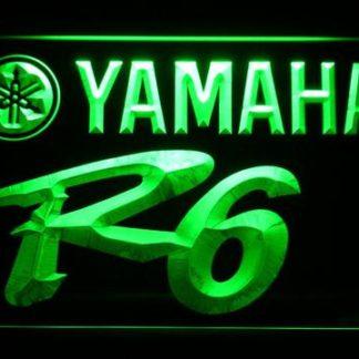 Yamaha R6 neon sign LED