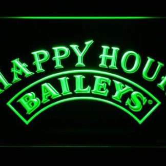 Baileys Happy Hour neon sign LED