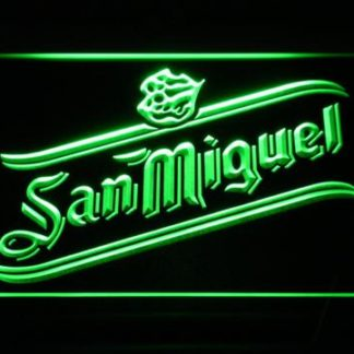 San Miguel neon sign LED