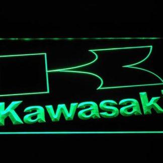 Kawasaki K Outline neon sign LED